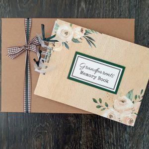 grandparents memory book