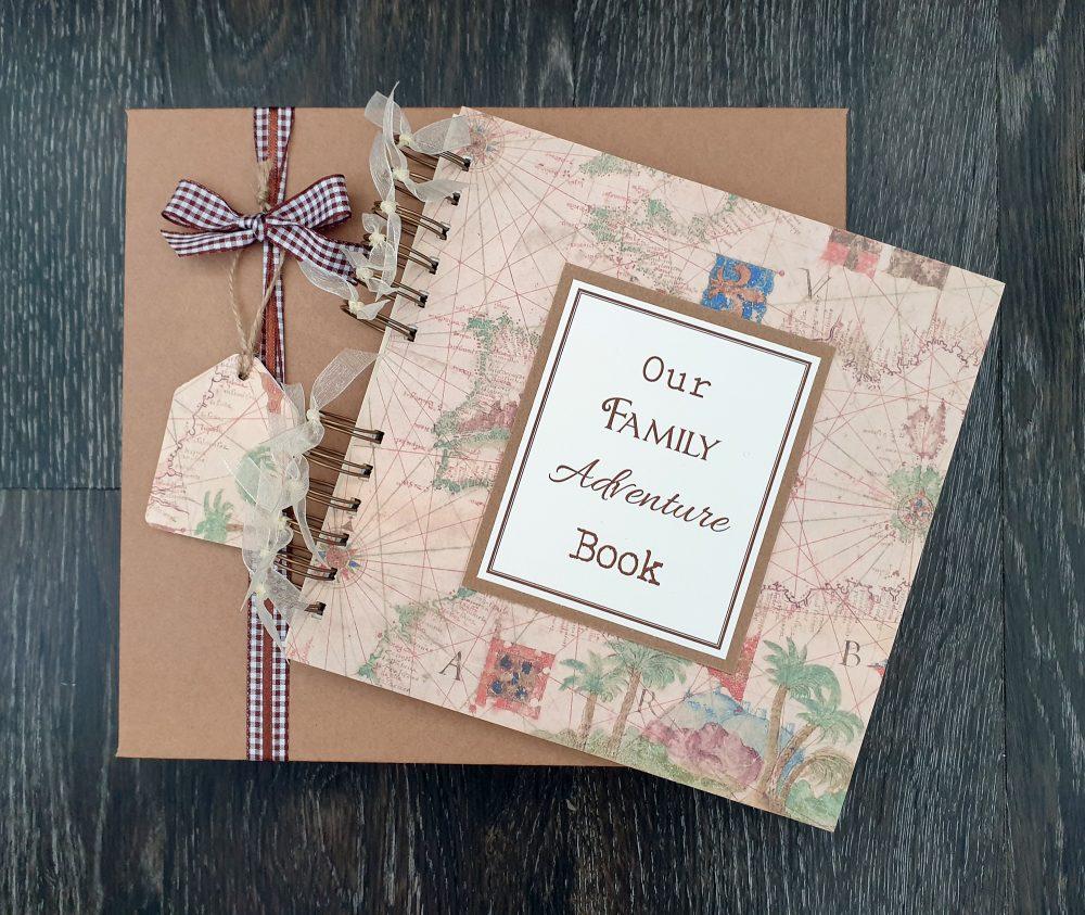 family adventure book